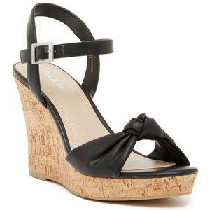 NWOT charles david ∙ lolly bow wedges
